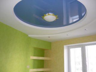 потолок в виде полукруга