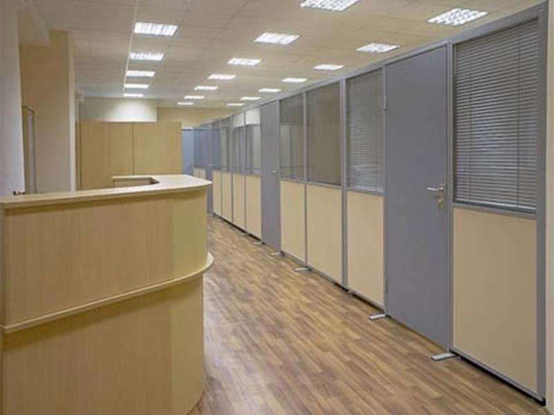 отремонтированный офис