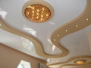 дизайнерский потолок